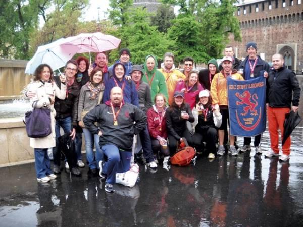 Gli Hic sunt Leones alla Milano City Marathon (inserita in galleria)