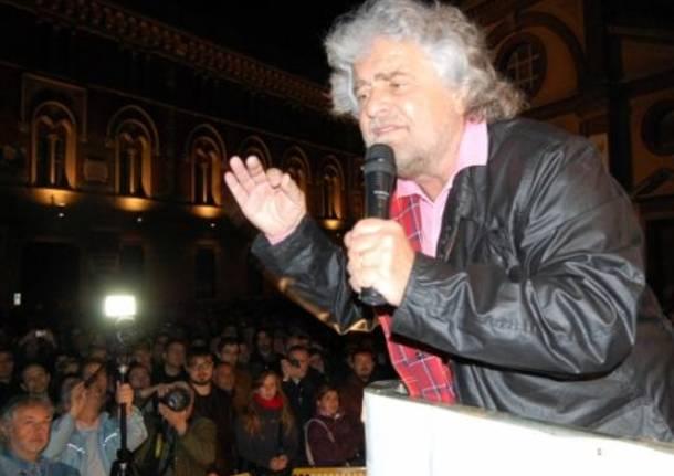 Grillo a Pordenone candida Rodotà