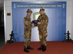 Il capo dell'esercito alla caserma Nato (inserita in galleria)