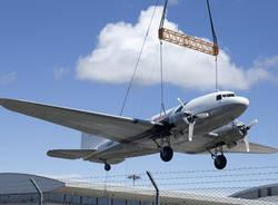 """Il DC-3 """"è atterrato"""" a Volandia (inserita in galleria)"""