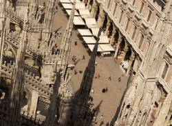 La vista dal Duomo di Milano (inserita in galleria)