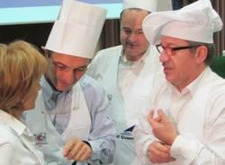 Maroni e Cattaneo ai fornelli per Cuore di Cuochi (inserita in galleria)