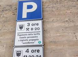 parcheggio apertura varese sosta