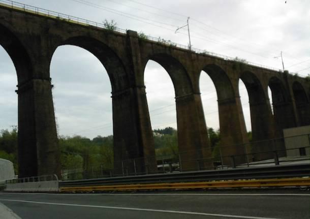 ponte ferrovia induno olona arcisate-stabio