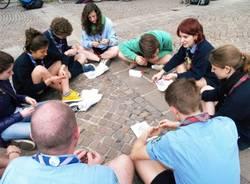 Scout in piazza Repubblica (inserita in galleria)