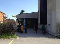 Tentata rapina alle poste di Gallarate (inserita in galleria)