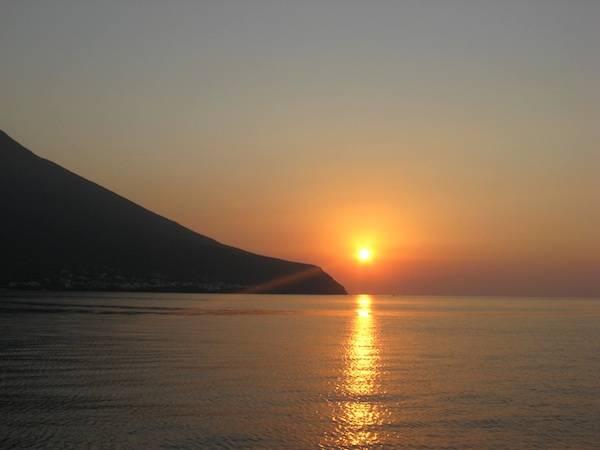 tramonto stromboli
