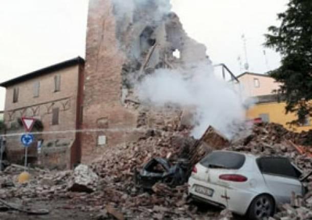 A Finale emilia, l'epicentro del terremoto