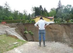 Avanza la frana sul Ticino a Somma  (inserita in galleria)