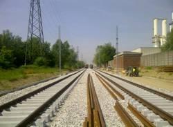 Sopralluogo sulla ferrovia Saronno Seregno (inserita in galleria)