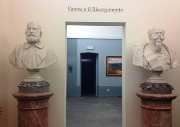 Varese, a Villa Mirabello apre la nuova sezione risorgimentale dei musei civici (inserita in galleria)