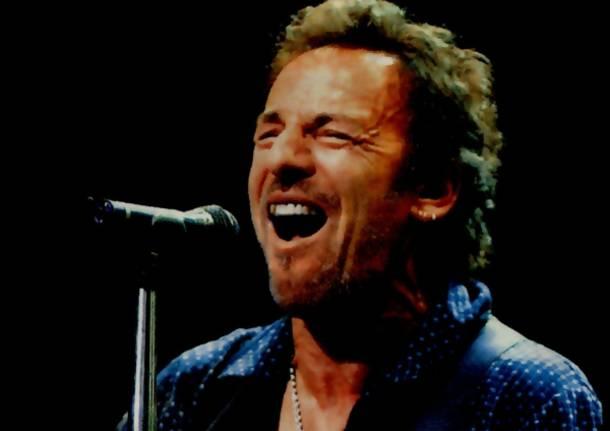 Ligabue al concerto di Bruce Springsteen: