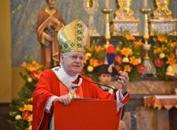 Il cardinale Angelo Scola in visita a Borsano (inserita in galleria)