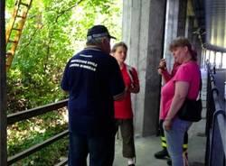 Bimba ferita a Laveno, i soccorsi (inserita in galleria)