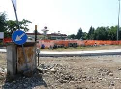 cantiere rotonda via varese gallarate luglio 2012