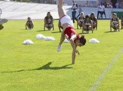 Cheerleader e banda per il Superbowl (inserita in galleria)