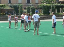 Football americano in piazza Repubblica (inserita in galleria)