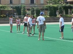 Football americano in piazza Repubblica (inserita in galleria)