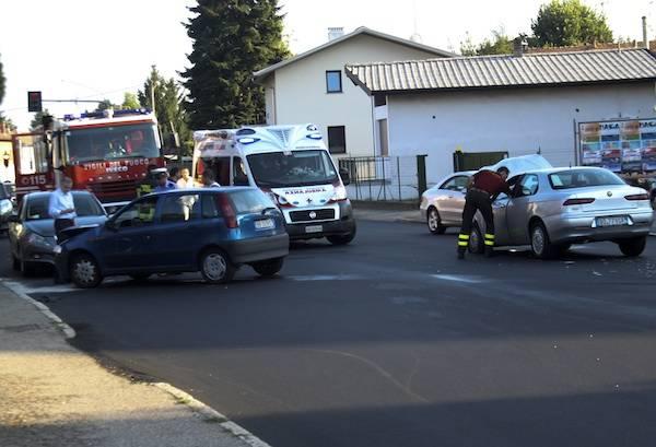gallarate incidente via varese cajello luglio 2012