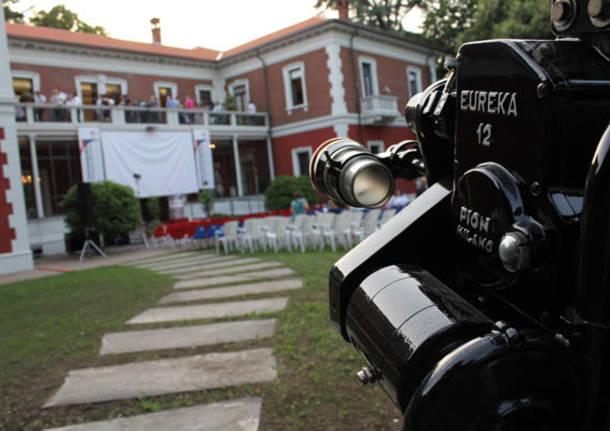 Il restauro di Villa Calcaterra (inserita in galleria)