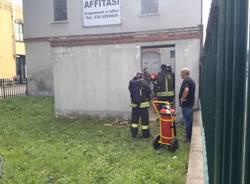 Incendio in una cabina elettrica (inserita in galleria)