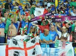 Italia - Spagna, i tifosi azzurri (inserita in galleria)