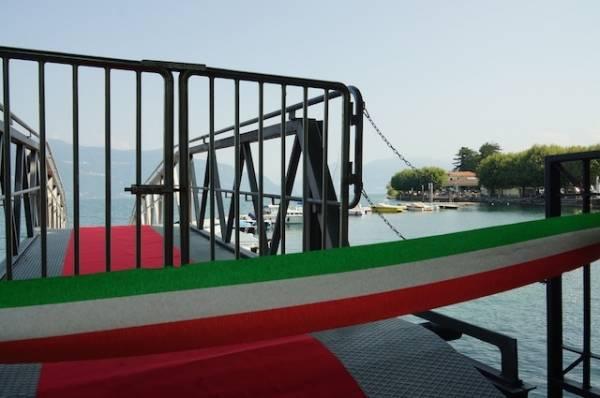 Nuovo porto barca sul Verbano (inserita in galleria)