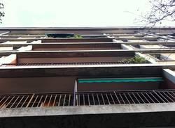 palazzo inail corso sempione gallarate balconi