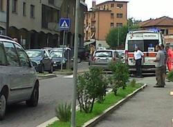 Pedone investito ad Azzate (inserita in galleria)
