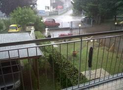 Pioggia e grandine su Lonate (inserita in galleria)