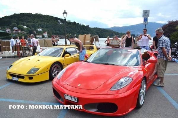 Raduno Ferrari Laveno Mombello (inserita in galleria)