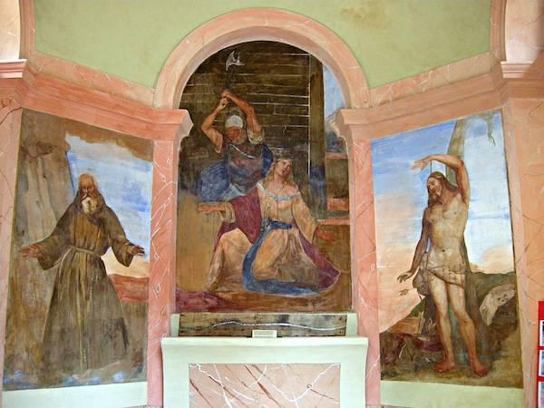 Taino, gli affreschi restaurati (inserita in galleria)