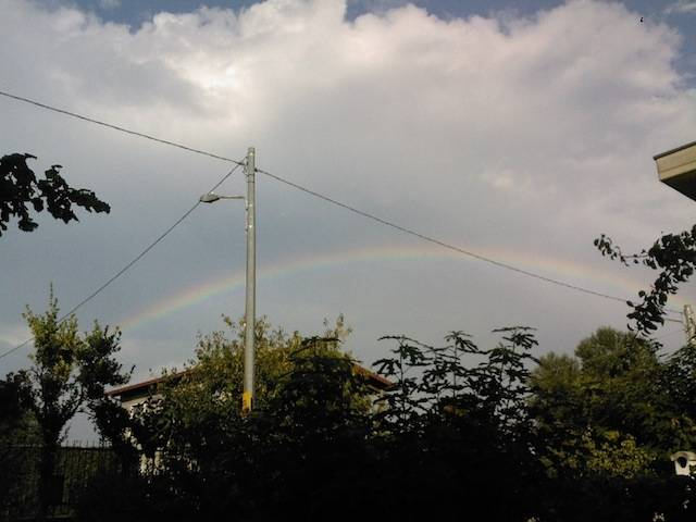 arcobaleno in Valceresio