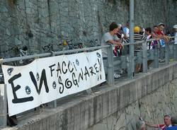 Coppa Bernocchi 2012, il passaggio dal Piccolo Stelvio (inserita in galleria)