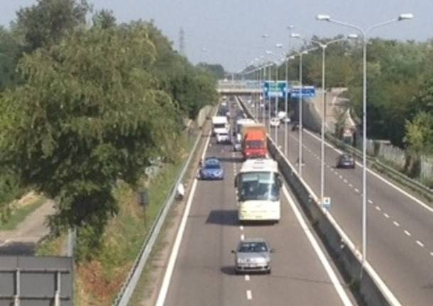 incidente superstrada 336 gallarate apertura