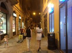 L'ultima sera di varese Shopping by night (inserita in galleria)