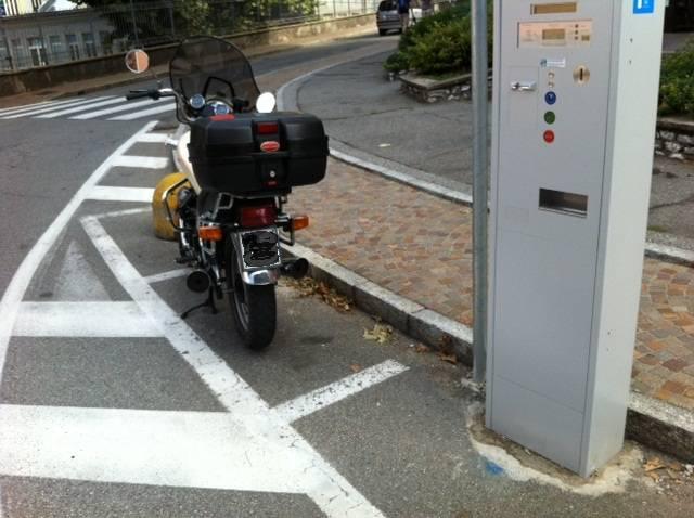 Parcheggi moto?