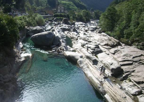 Donna scompare nel fiume a Lavertezzo, è in fin di vita
