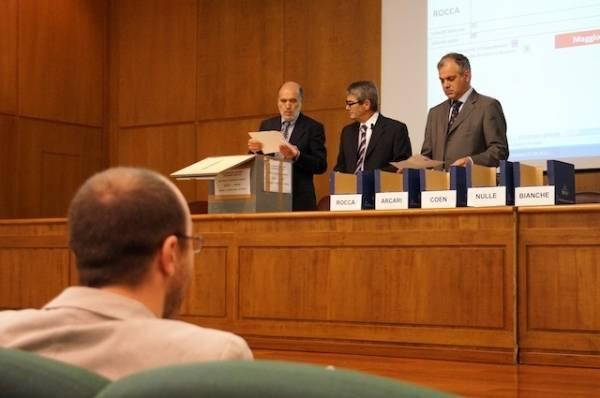 Alberto Coen Porisini è il nuovo rettore (inserita in galleria)