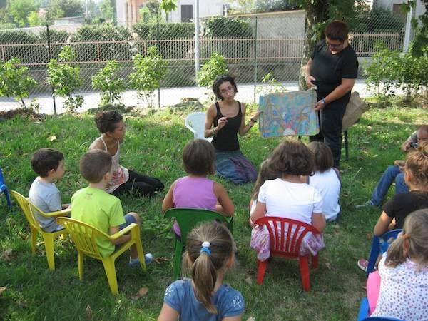 Bambini ad Anche Io (inserita in galleria)