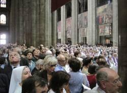 Funerali del cardinal Martini, il racconto per immagini (inserita in galleria)