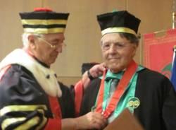 Laurea honoris causa a Evrando Agazzi (inserita in galleria)
