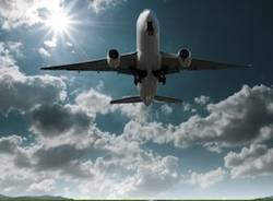 malpensa decollo aereo apertura