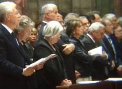 prima fila funerali cardinal martini (per gallerie fotografiche)
