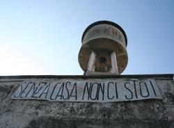 Ex tintoria occupata a Saronno (inserita in galleria)