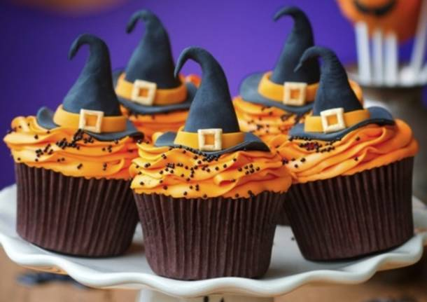 Halloween, cupcake da brivido (inserita in galleria)