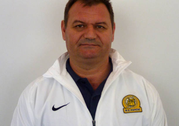 nenad ilic allenatore hockey club varese mastini