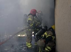 pompieri locarno apertura incendio ascona