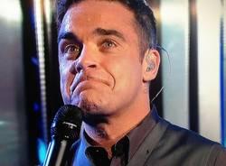Robbie Williams a XFactor (inserita in galleria)