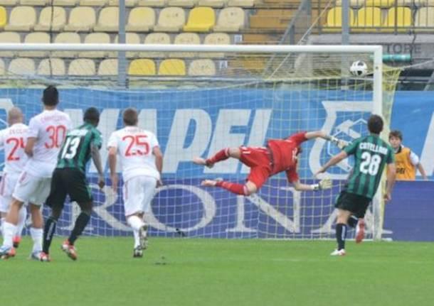 Sassuolo-Varese, la partita in tre minuti